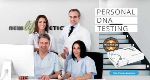 DNA test online for private and clinics, New Life Genetics testing 2020