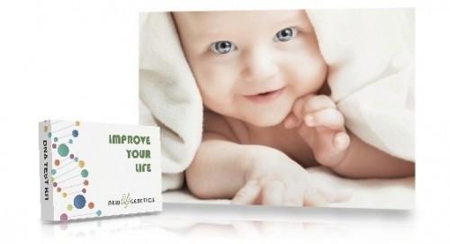 Genetisk baby & barn test online