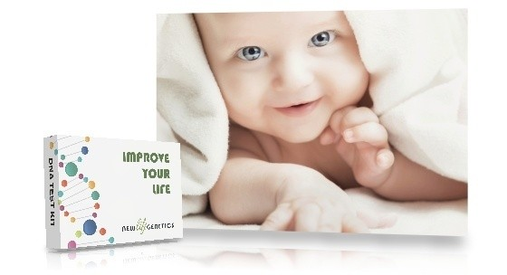 DNA testing kids and babies for health and future