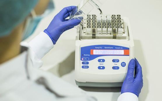 Genetics test lab progress