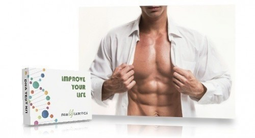 Genetic fitness test for men