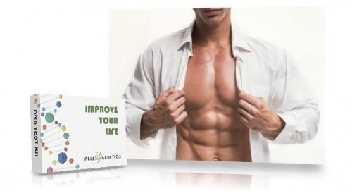 Genetic fitness test for men