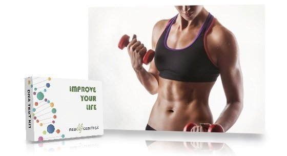 Sport fitness test for girls, Genetic fit test for her