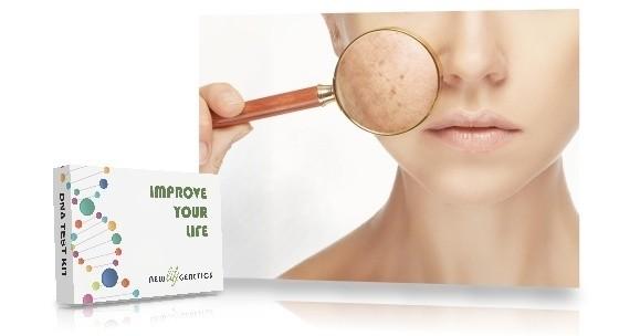 Genetisk Hud test - Dansk akne og hud DNAtest for et bedre helbred