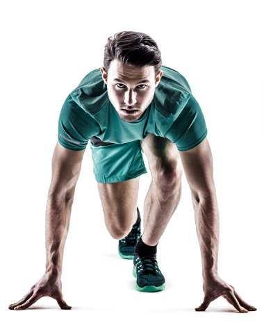 Sport, atlet og fitness genetisk test for mænd