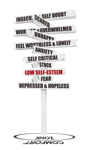 Low self-esteem and our life
