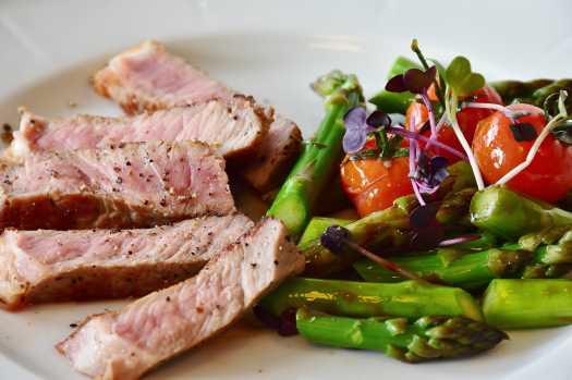 Metabolism boosting by eating proteins