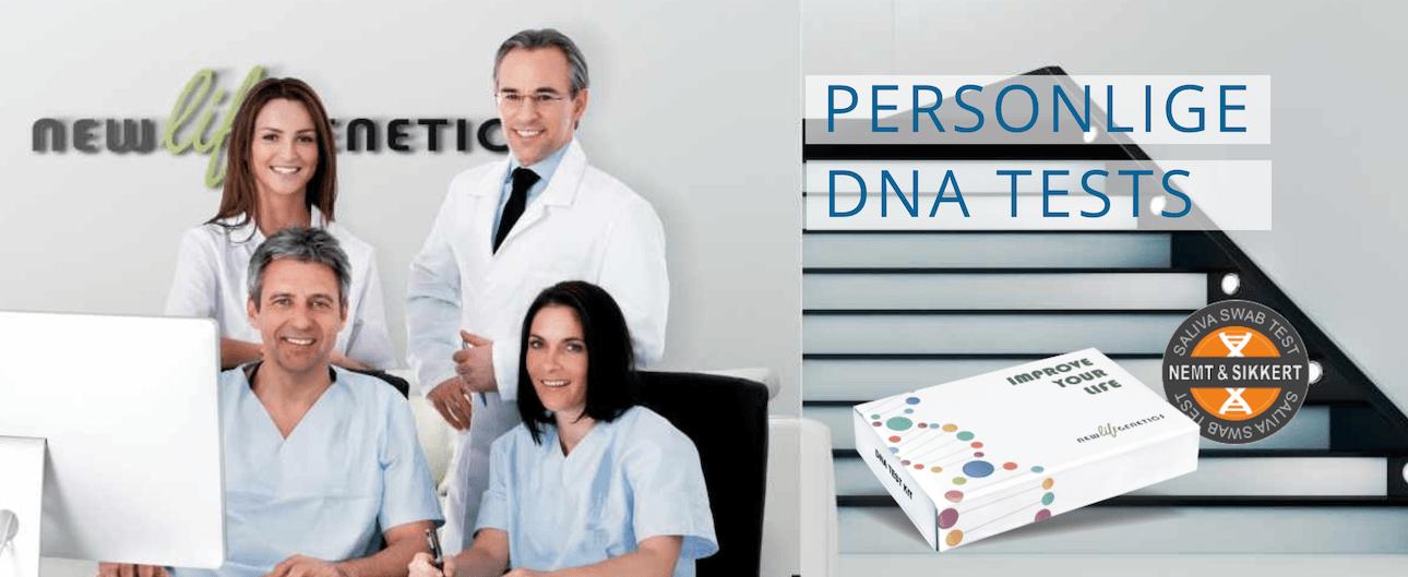 New Life Genetics Dansk DNA test service for personlig viden 2020